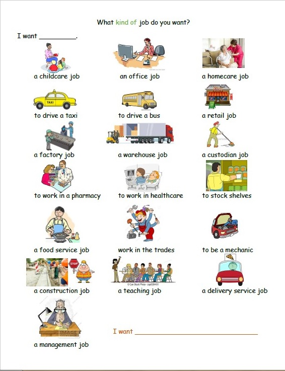 Kinds of Jobs