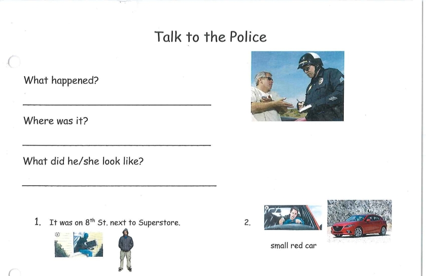 Talk to Police