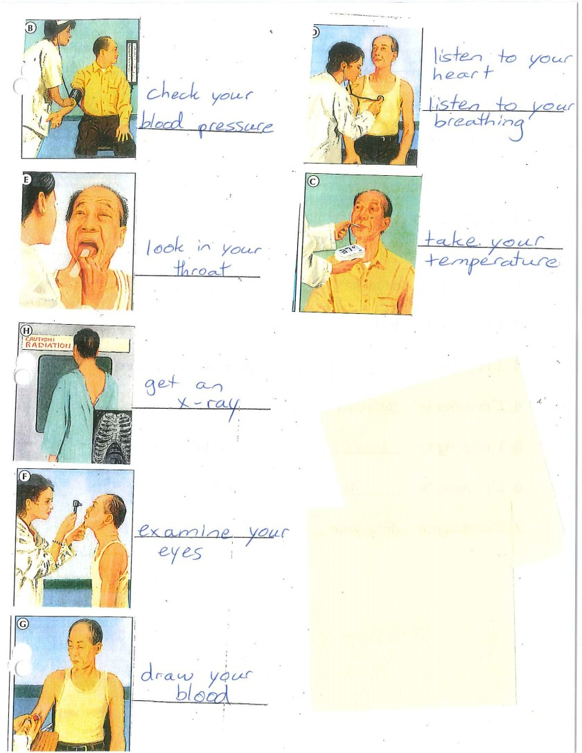 doctor examinations