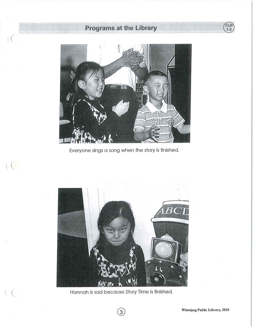page 3 library story