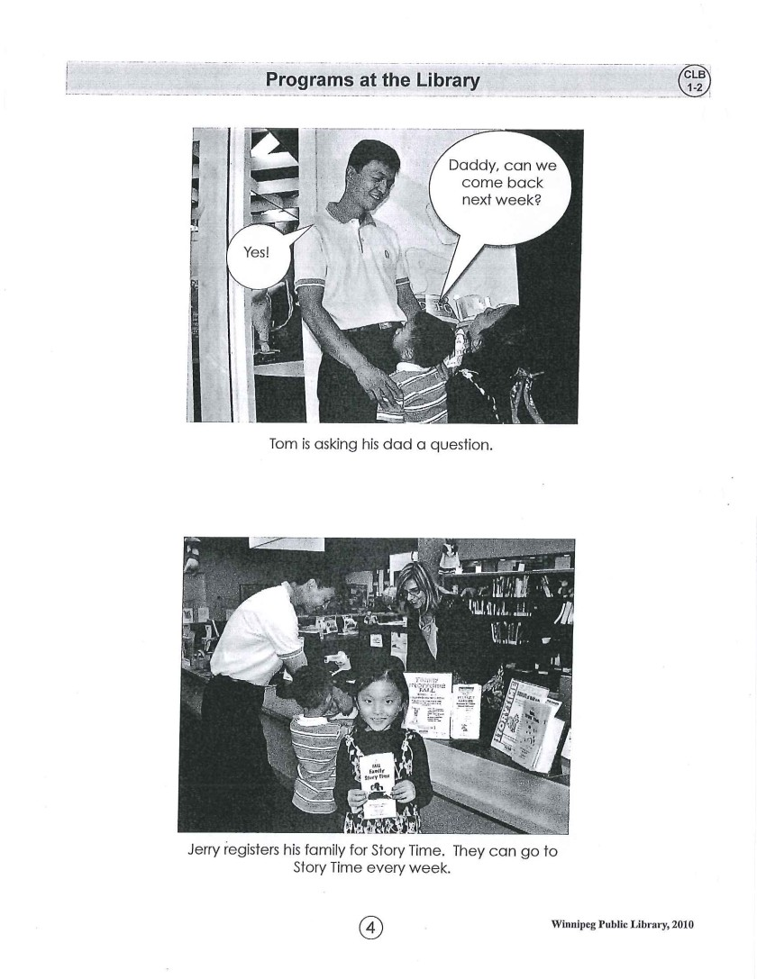 page 4 library story